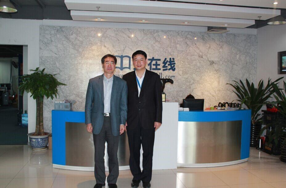 清华大学党委常委、副校长姜胜耀一行莅临中文在线调研